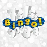 Kreatywnie Abstrakcjonistyczny Bingo Zdjęcia Stock