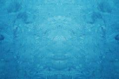 Kreatywnie Błękitny kolor Szorstki i Grunge tekstury Betonowy tło fotografia stock