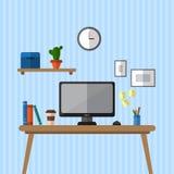 Kreatywnie biurowy workspace Fotografia Stock