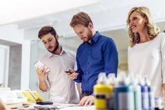 Kreatywnie coworkers warsztatowi Obraz Stock