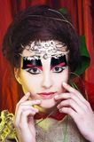 Kreatywnie dama Zdjęcie Royalty Free