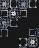 Kreatywnie dekoracyjny czarny tło ilustracja wektor
