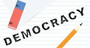 Kreatywnie demokracja Zdjęcia Royalty Free