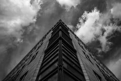 Kreatywnie Domowa fasada w Berlin zdjęcia stock