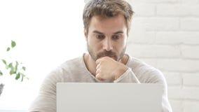 Kreatywnie działanie na laptopie i, Brainstorming zbiory wideo