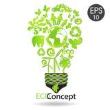 Kreatywnie Eco pojęcie Fotografia Stock