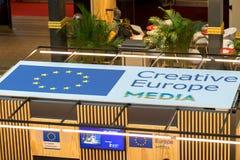 Kreatywnie Europa środki programują sztandar Zdjęcie Stock