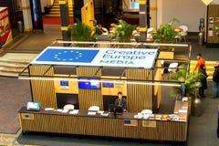Kreatywnie Europa środki programują sztandar Zdjęcia Royalty Free