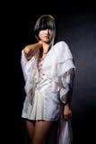 kreatywnie fryzury kobiety potomstwa Fotografia Stock