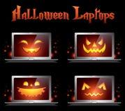 kreatywnie Halloween ikon potwór Obraz Stock
