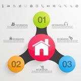 Kreatywnie infographic układ z sieci ikonami ilustracji
