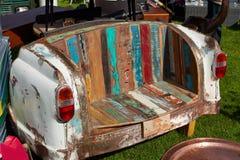 Kreatywnie kanapa robić od rocznika samochodu Obraz Stock