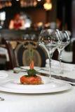 kreatywnie karmowy luksusowy restauracyjny jarosz Fotografia Stock