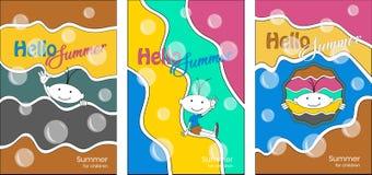 Kreatywnie kolorowe broszurki dla dzieci przyjęć obrazy royalty free