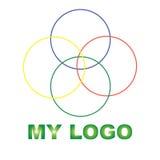Kreatywnie logo dla twój firmy Obrazy Stock