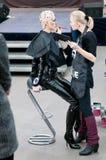 kreatywnie makeup modela przedstawienie stylista Obraz Stock
