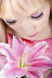 kreatywnie makeup portreta kobiety potomstwa Obrazy Royalty Free