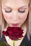 kreatywnie makeup portreta kobiety potomstwa Zdjęcia Royalty Free