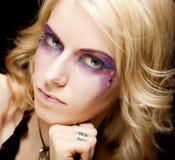 kreatywnie makeup seksowna kobieta Zdjęcie Royalty Free