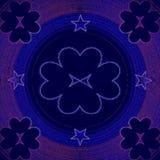 Kreatywnie miłość wzór Obrazy Royalty Free