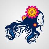 Kreatywnie mod kobiet portret, ilustracji