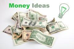 Kreatywnie narastający pieniądze pomysł Zdjęcie Stock