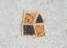 Kreatywnie nieruchomość dom i gruntowy Uprawiać ziemię pojęcie Fotografia Stock