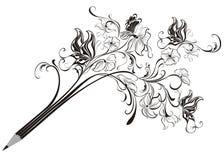 Kreatywnie ołówek royalty ilustracja