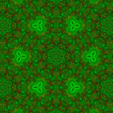 Kreatywnie ogólnoludzki kwiecisty wzór w wielo- kolorze Obraz Royalty Free