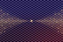 Kreatywnie pojęcia Wektorowy ustawiający jarzeniowi lekkiego skutka gwiazd wybuchy z błyska odosobnionego Zdjęcie Stock