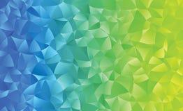 Kreatywnie poligonalny abstrakcjonistyczny tło Wektorowa klamerki sztuka Zdjęcie Stock