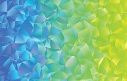 Kreatywnie poligonalny abstrakcjonistyczny tło Wektorowa klamerki sztuka Fotografia Stock