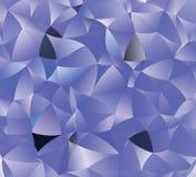 Kreatywnie poligonalny abstrakcjonistyczny tło Wektorowa klamerki sztuka Obraz Royalty Free