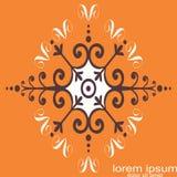 Kreatywnie próbka projekta okręgu abstrakcjonistyczny logo obraz stock
