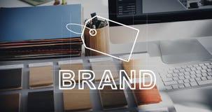 Kreatywnie projekta gatunku tożsamości Marketingowy pojęcie Obraz Stock