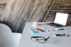 Kreatywnie projektanta desktop strona obrazy stock