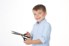 Kreatywnie szczęśliwy dziecko Obraz Royalty Free
