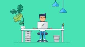Kreatywnie techniki Workspace royalty ilustracja