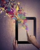 Kreatywnie technologia obrazy royalty free