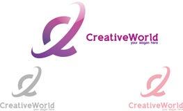 kreatywnie świat Obraz Stock