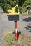 Kreatywnie Wiejska skrzynka pocztowa Fotografia Stock