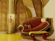 kreatywnie wnętrze royalty ilustracja