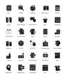 Kreatywnie zakupy I handlu ikony Fotografia Stock