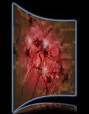Krebszelle pixelated Lizenzfreies Stockfoto