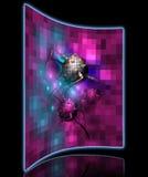 Krebszelle pixelated Lizenzfreie Stockbilder