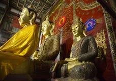 Kred Naka Buddha en el templo del gung de Yang en Kengtung fotos de archivo