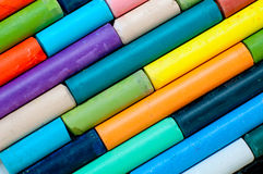 kreda kolorowego Obrazy Stock