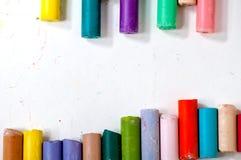 kreda kolorowego Zdjęcia Stock