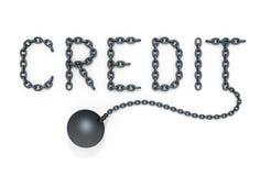 Krediet vector illustratie