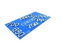 Krediet Rating5 Stock Foto